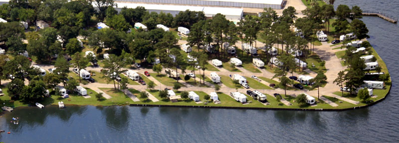 Sunset Shores RV Resort | Lake Conroe Texas